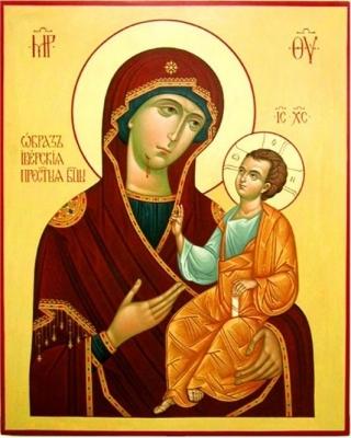 Лилия Гурьянова.  Вам поможет Иверская икона Божией Матери.
