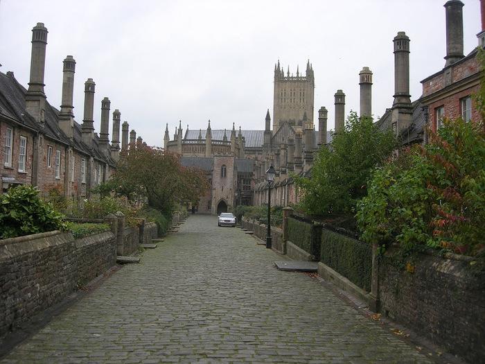 """Собор в Уэльсе - """"самый поэтический из английских Соборов""""- часть 1. 37318"""
