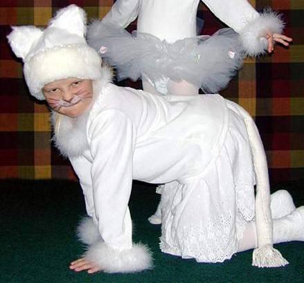 Кошечка костюм своими руками