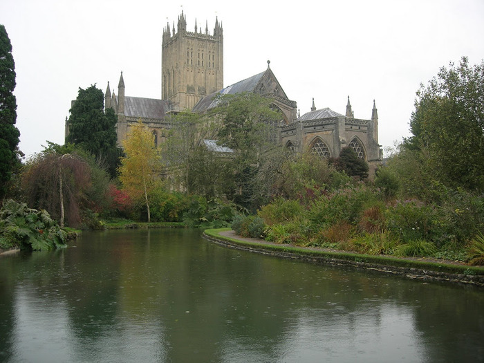 """Собор в Уэльсе - """"самый поэтический из английских Соборов"""" -часть 2. 14396"""