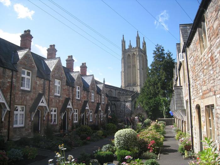 """Собор в Уэльсе - """"самый поэтический из английских Соборов""""- часть 1. 35051"""