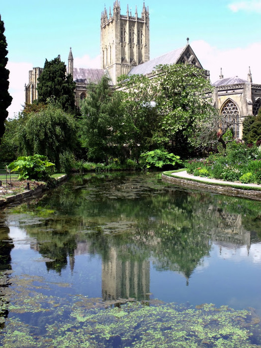 """Собор в Уэльсе - """"самый поэтический из английских Соборов""""- часть 1. 57338"""