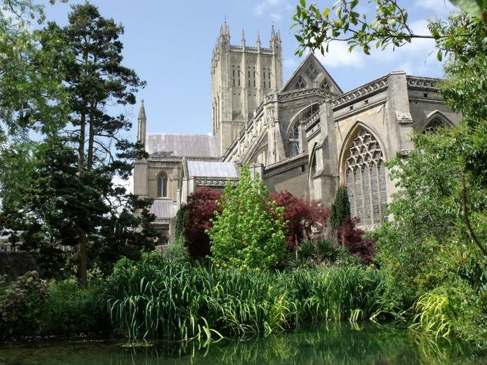 """Собор в Уэльсе - """"самый поэтический из английских Соборов""""- часть 1. 24460"""