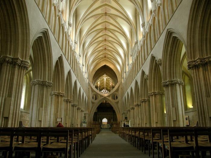 """Собор в Уэльсе - """"самый поэтический из английских Соборов""""- часть 1. 14759"""