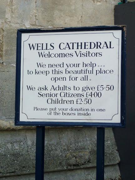 """Собор в Уэльсе - """"самый поэтический из английских Соборов""""- часть 1. 62314"""