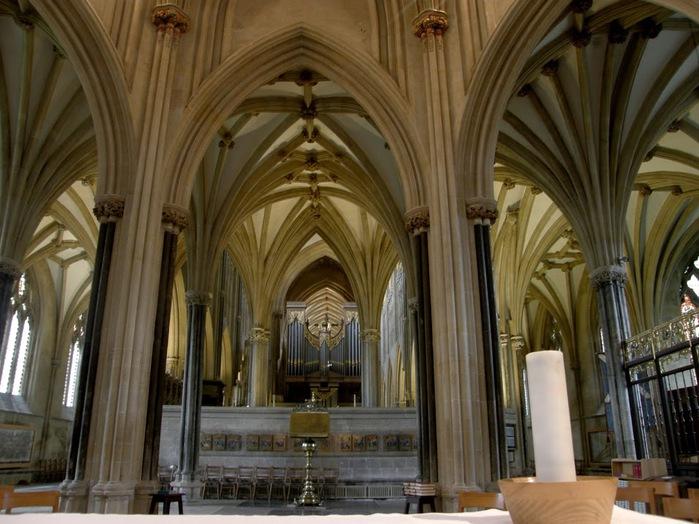 """Собор в Уэльсе - """"самый поэтический из английских Соборов""""- часть 1. 49266"""