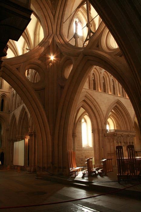 """Собор в Уэльсе - """"самый поэтический из английских Соборов""""- часть 1. 37877"""