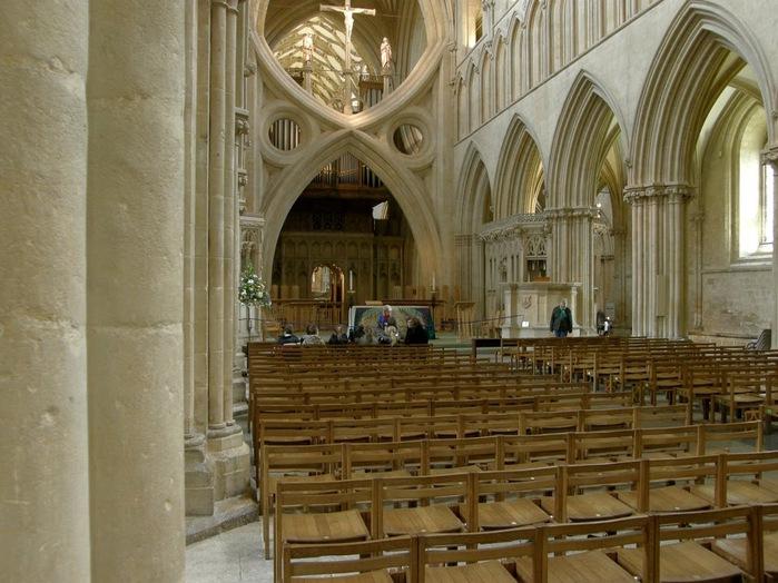 """Собор в Уэльсе - """"самый поэтический из английских Соборов""""- часть 1. 79603"""