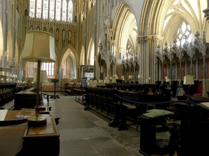 """Собор в Уэльсе - """"самый поэтический из английских Соборов""""- часть 1. 69080"""