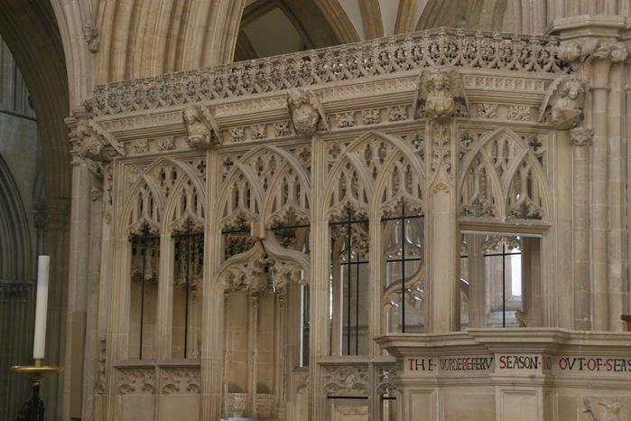 """Собор в Уэльсе - """"самый поэтический из английских Соборов""""- часть 1. 49522"""