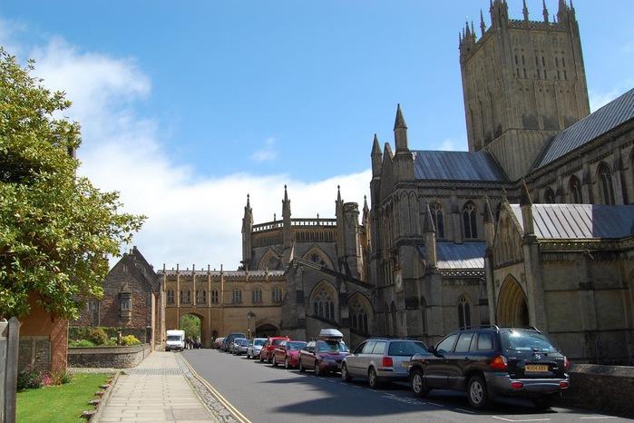 """Собор в Уэльсе - """"самый поэтический из английских Соборов""""- часть 1. 49784"""