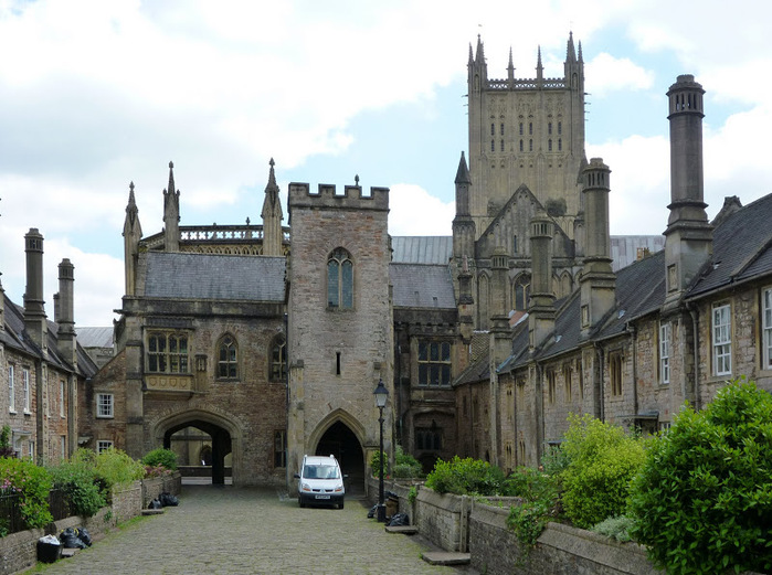 """Собор в Уэльсе - """"самый поэтический из английских Соборов""""- часть 1. 53235"""