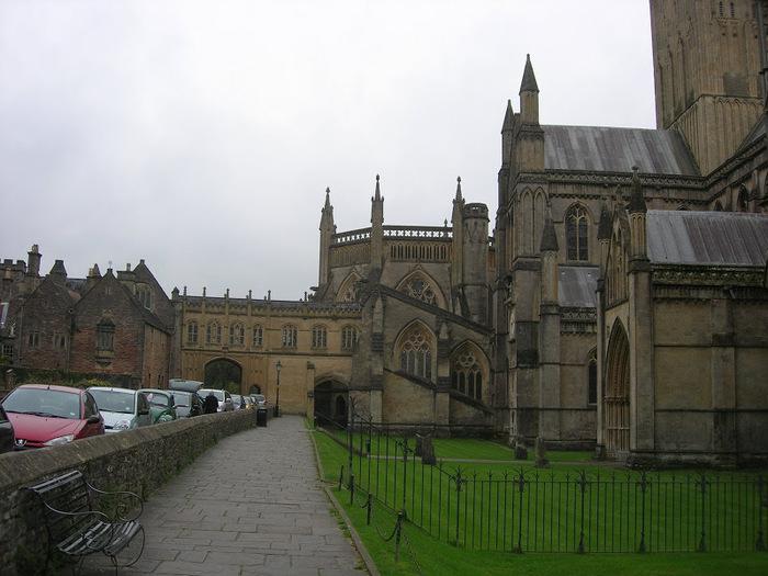 """Собор в Уэльсе - """"самый поэтический из английских Соборов""""- часть 1. 79280"""