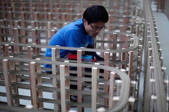 World's Longest Plastic Toy Train Track: новый рекорд в Книге Гиннесса