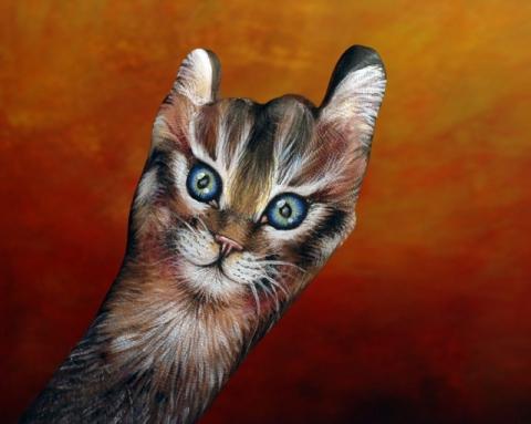 бодиарт на руках  Гвидо Даниэле 1 (480x383, 124Kb)