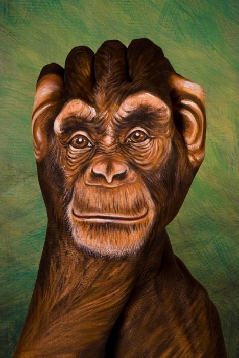 бодиарт на руках  Гвидо Даниэле 9 (468x700, 268Kb)