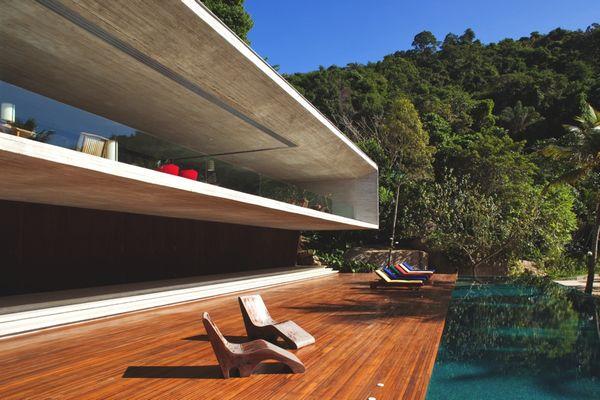 Дом в стиле минимализм Paraty House 16 (600x400, 49Kb)