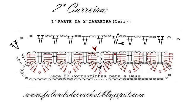 ARVORE DE NATAL DE CROCHE 1ª PARTE DA 2ª CARREIRA (640x351, 62Kb)