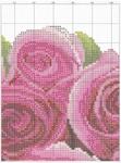 Вышивка.  Часы с розой.