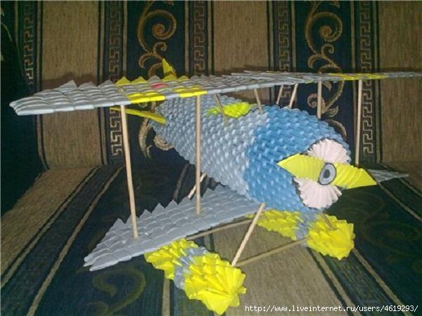 оригами схема — поделки из