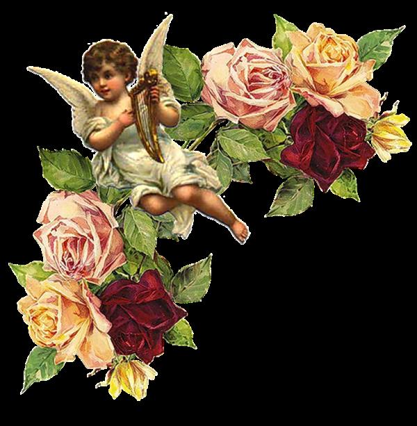 Картинки для декупажа с ангелами 177