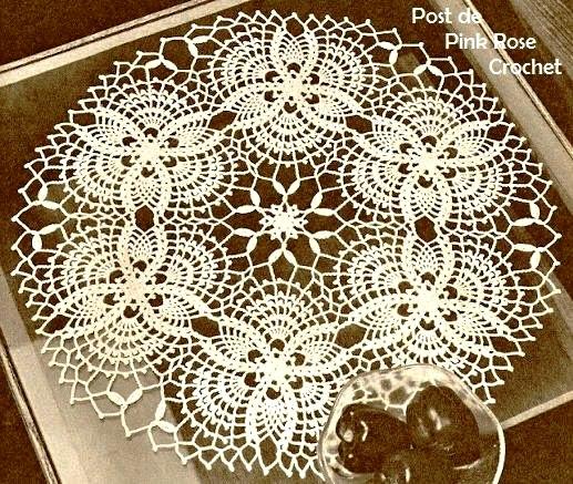 Toalhinha Abacaxi Croche 28 - PRose Crochet (517x437, 123Kb)