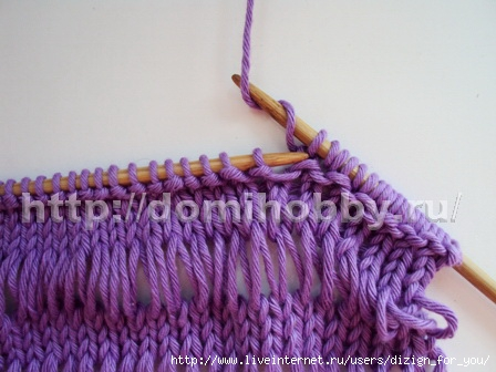 Вязание спицами узоры схемы