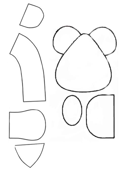 выкройка кошки и мышки для Маши 02 (494x700, 55Kb) .