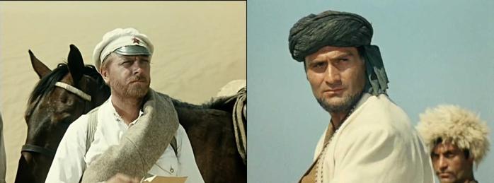фильм Белое солнце пустыни смотреть онлайн,Кахи Кавсадзе,Сухов, Абдула (700x259, 74Kb)