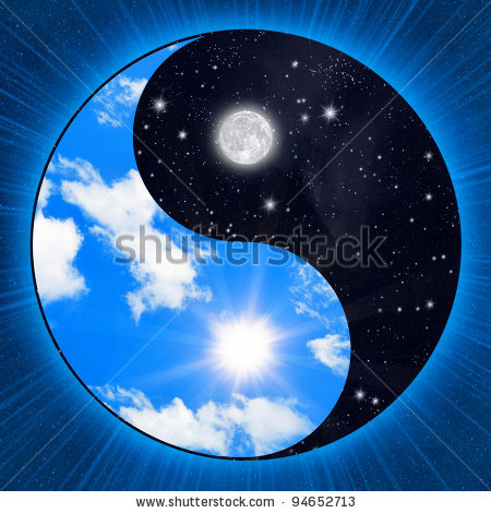 stock-photo-yin-yang-symbol-with-clouds-and-stars-94652713 (450x470, 65Kb)