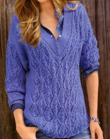 Пуловер женский вязаный спицами/4683827_20121127_204052 (455x571, 305Kb)