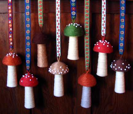 """有意思的手工:""""蘑菇"""" - maomao - 我随心动"""