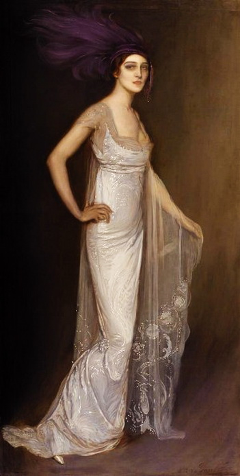 Portrait d'Ida Rubinstein, 1913 (351x694, 71Kb)