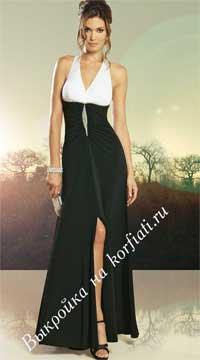 Шьём вечернее платье выкройка фото 541