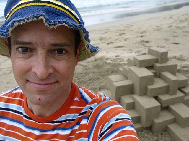 Кэлвин Зайберт. 3D-замки из песка