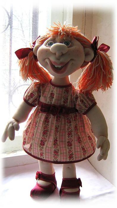 МК по созданию По этому МК вы сможете сделать каркасную куклу в скульптурно