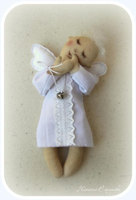 Мягкие игрушки своими руками ангел