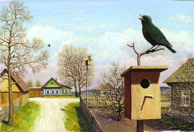 Биоакустический отпугиватель птиц в помощь садоводу или огороднику!