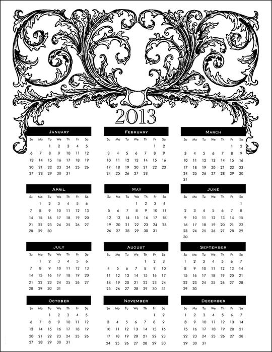 printable-2013-calendar (540x700, 192Kb)