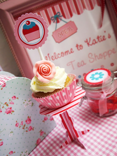 party crafts tutorial pattern paper cupcake stand 3 (480x640, 86Kb)