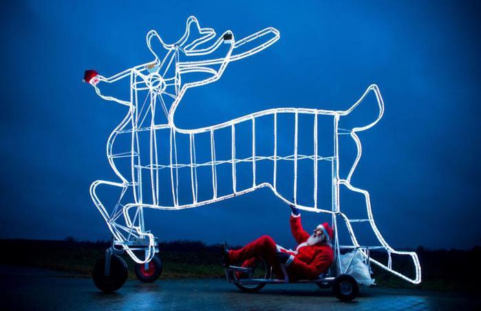 Велосипед для Санта-Клауса