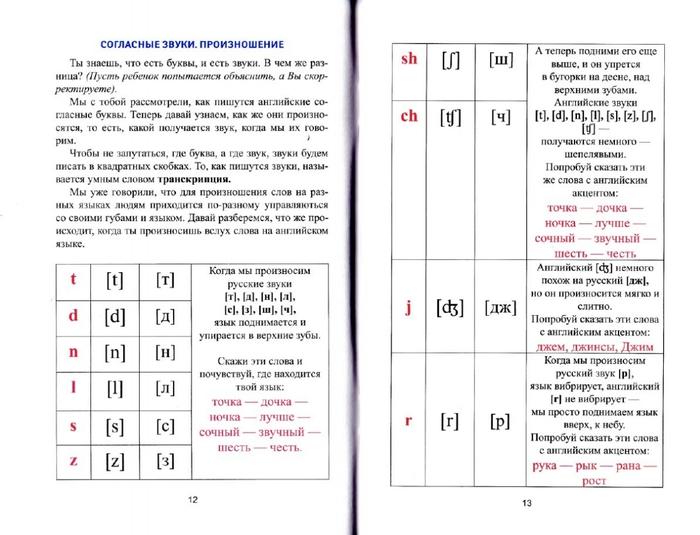 как читать слова по английски