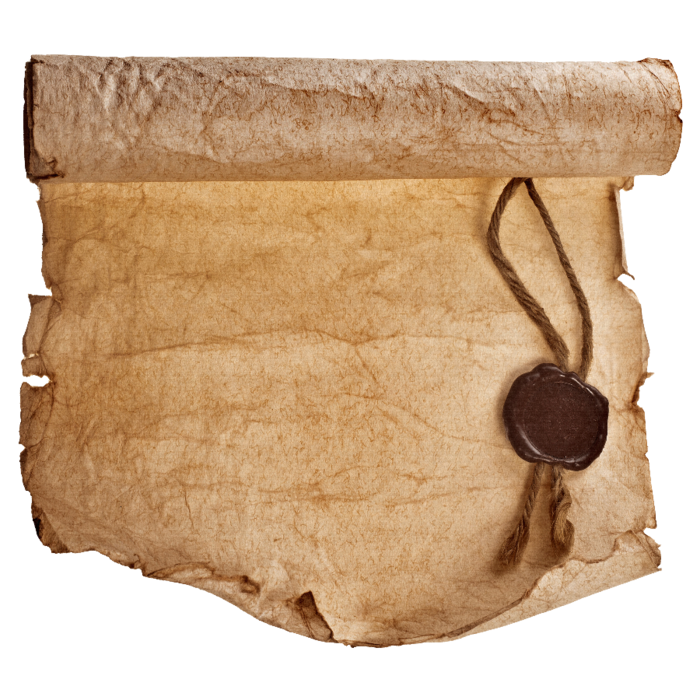 Рисунок старинной бумаги