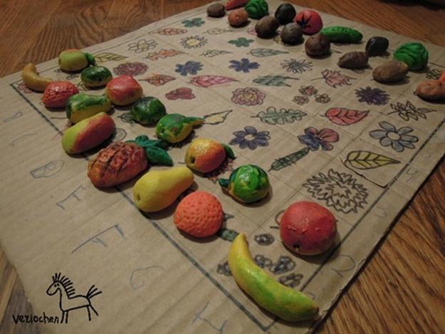 Фруктово-овощные шахматы
