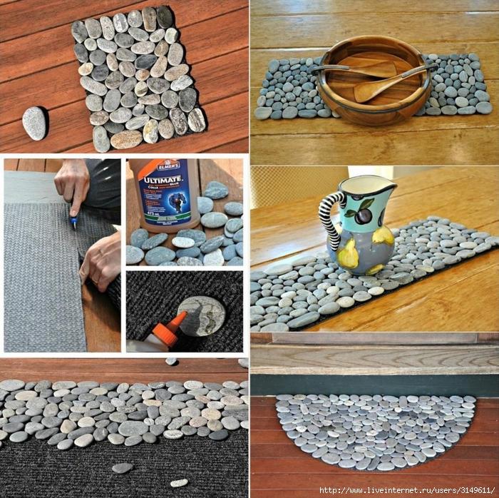 Декорирование плиткой своими руками
