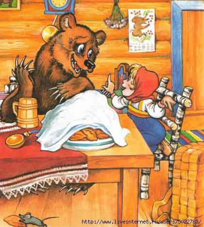 сказка про машу и медведя слушать