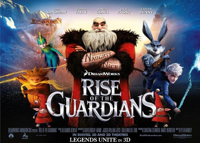 Хранители снов (Rise of the Guardians), 2012