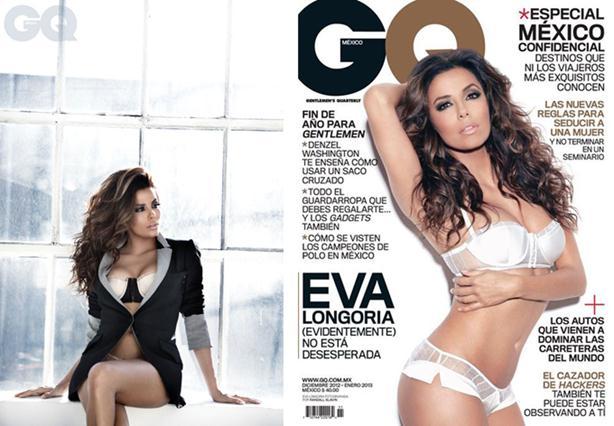 Ева Лонгория в журнале GQ Mexico. Фото и видео