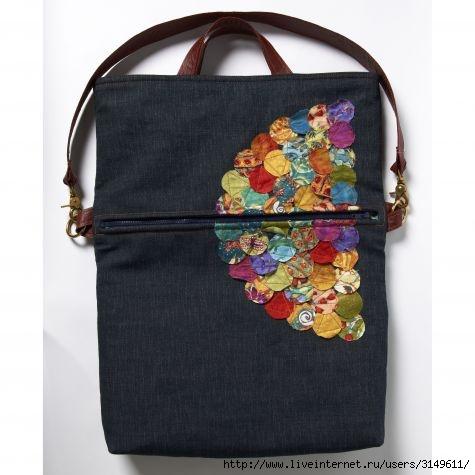 Фото сумки из ткани своими руками