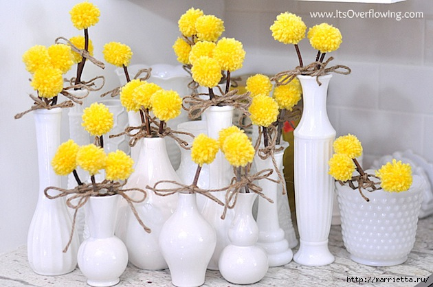 yarn-pom-pom-billy-ball-flowers (630x418, 171Kb)